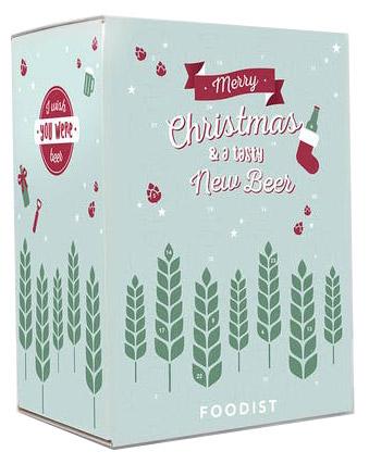 Foodist Weihnachtskalender.Foodist Adventskalender Craft Beer Mit 24 Ausgewählten Bieren 24 X 0 33 L