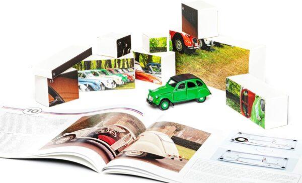 Inhalt - Franzis 55154-2 Adventskalender Citroën 2 CV - 2021