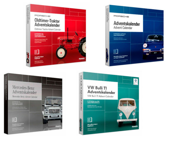Franzis Modellautos Adventskalender 2019