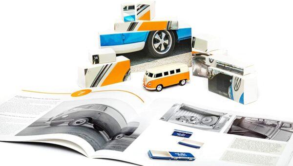 Inhalt - Franzis VW Bulli T1 Adventskalender - 2021