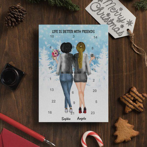 Freundinnen-Adventskalender, Bild 2