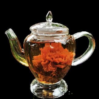 Teekanne Glas Füllidee Adventskalender Frauen Tee