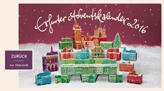 Goldhelm Schokolade Manufaktur Adventskalender 2016