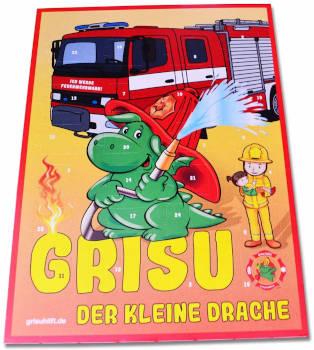 Schokolade Adventskalender Grisu der kleine Drache 2018
