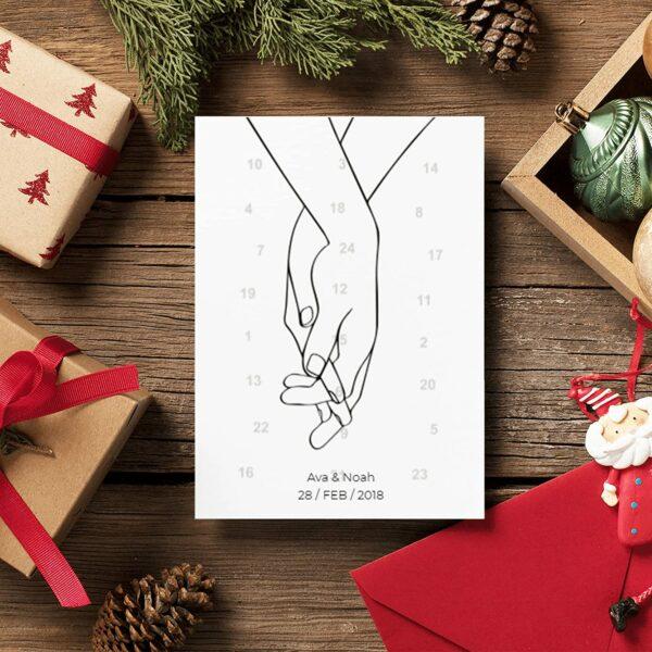 Zuneigungs-Adventskalender, Bild 1
