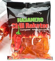 Habanero-Chilli-Fruchgummis