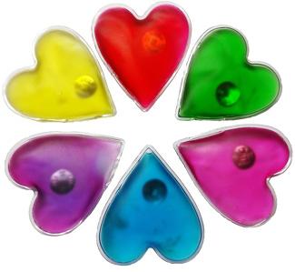 Handwärmer-Herzform