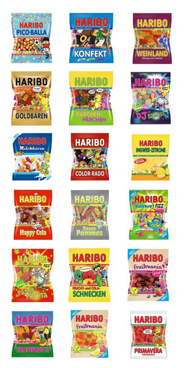 Inhalt Haribo XXL Adventskalender