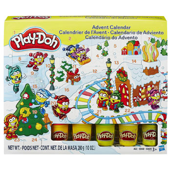 Hasbro Play Doh Knete Adventskalender 2014