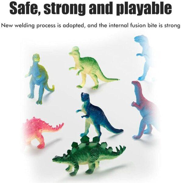 Adventskalender Dinosaurier Herstellung Figuren