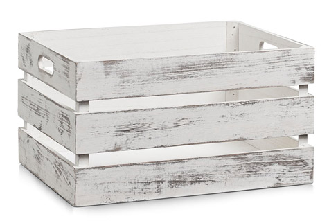 Aufbewahrungs-Kiste weiß