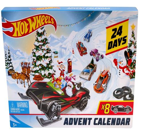 amazon hot wheels adventskalender 2019