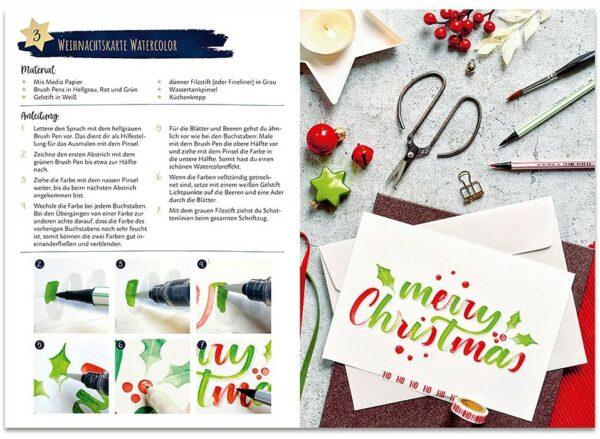 Inhalt - I Love Christmas Lettering 2021