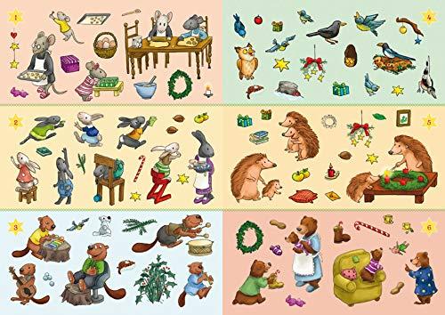 Inhalt-Mein Sticker-Adventskalender 2021