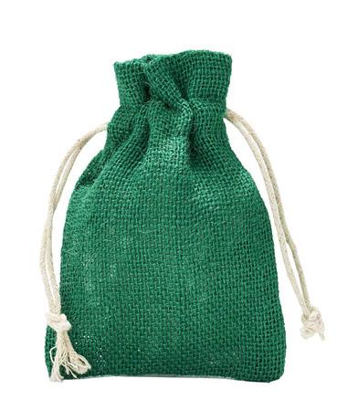 Jutesäckchen-grün