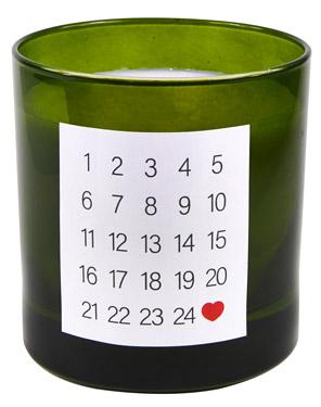 DIY-Adventskalender-Njutning-Ikea-Duftkerze-grün