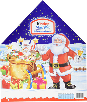KINDER MAXI MIX ADVENTSKALENDER 2018-.