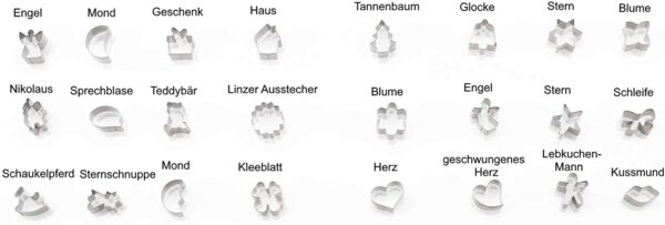 Inhalt - Kaiser Back Kalender