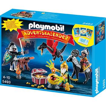 Kampf Um Den Drachenschatz Playmobil Adventskalender 2013