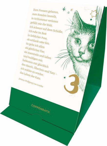 Katzen-Adventsbegleiter 2020 Inhalt
