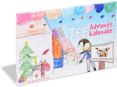 Tee Kalender Kinderhilfe