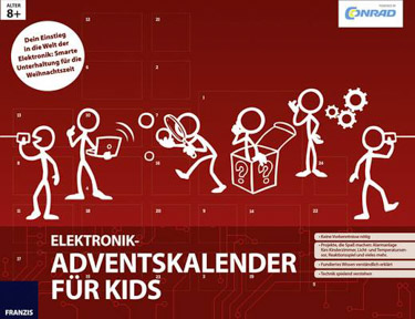 Conrad Elektronik Adventskalender für Kids