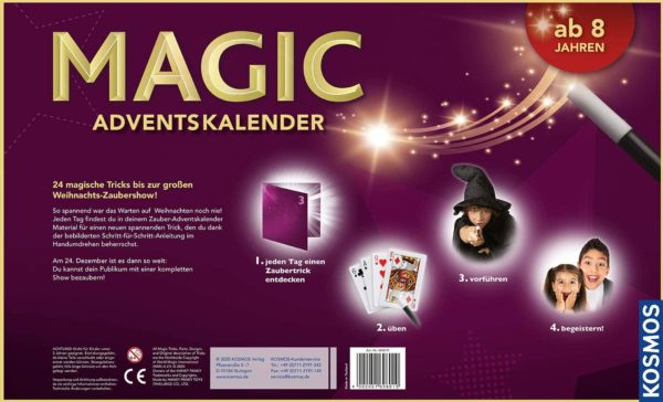 Kosmos Magic Adventskalender 2020 Inhalt