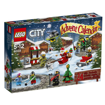 Lego City 60133 Adventskalender 2016