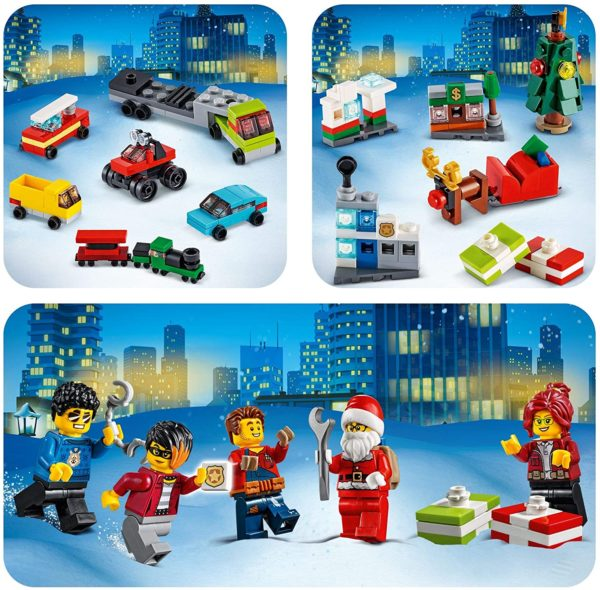 Lego City Adventskalender 2020 Inhalt