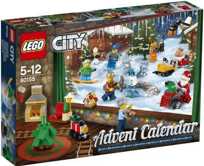 Lego City 60155 Adventskalender 2017
