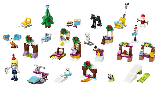 Lego Friends Adventskalender 2017 Inhalt