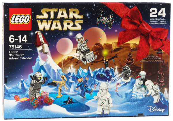 Lego Star Wars Adventskalender 2016 #75146 - Packung