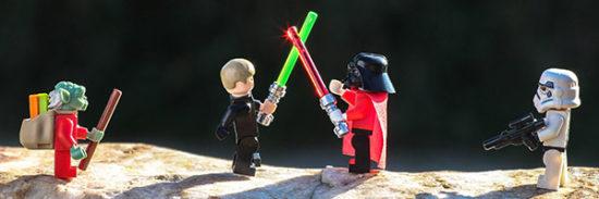Lego Star Wars Adventskalender Luke Skywalker Dart Vader