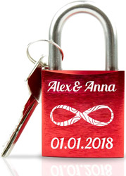 Liebesschloss-mit-Gravur-und-Schlüssel