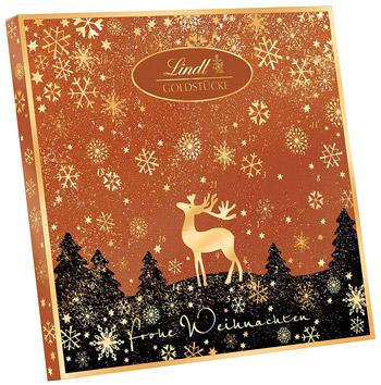 Lindt-Goldstücke-Rotgold-Adventskalender