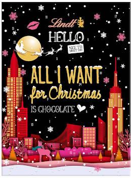 Schokolade Lindt Hello Adventskalender