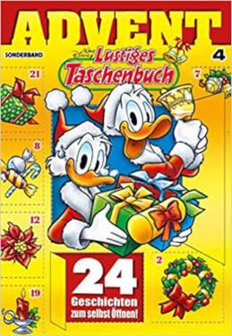 Lustiges Taschenbuch Adventskalender
