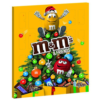 MM Friends Schokoladen Adventskalender
