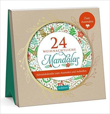 Mandala Adventskalender zum Ausmalen