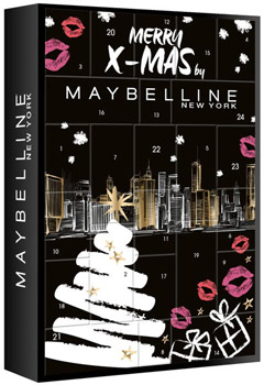 Maybelline Merry Christmas Adventskalender 2019