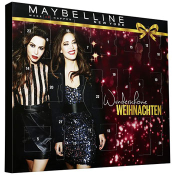 Maybelline New York Beauty Adventskalender 2016