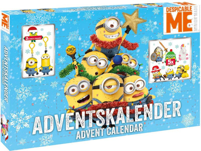 Minions Adventskalender Despicable Me