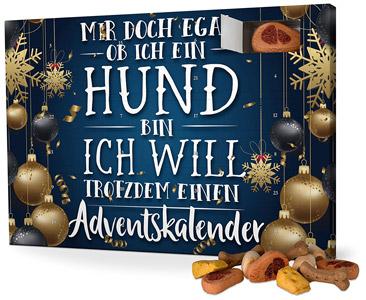 """Mir doch egal"" Hunde Adventskalender 2017"