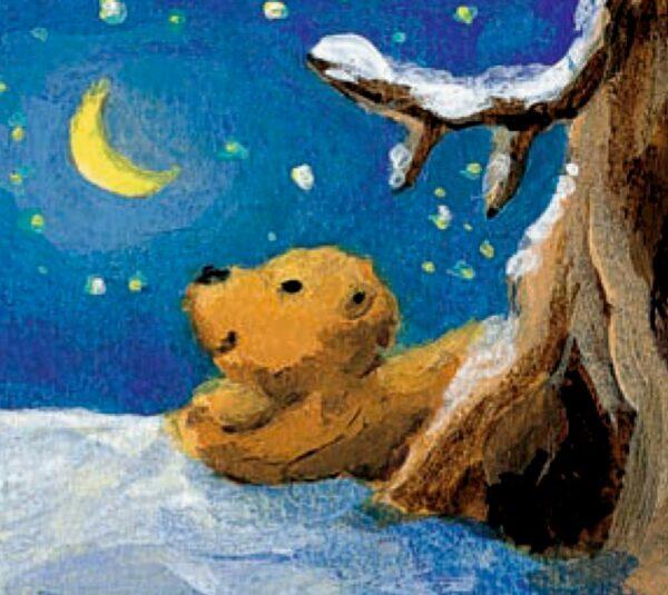 Wandkalender - Der Mondbär im Weihnachtshimmel Inhalt Bild 1