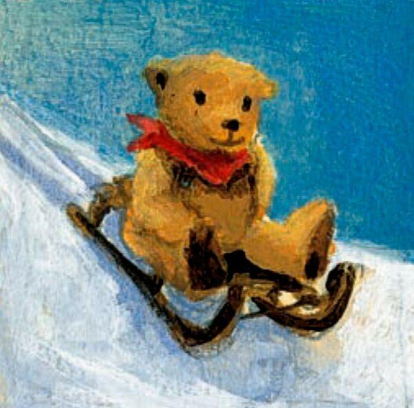 Wandkalender - Der Mondbär im Weihnachtshimmel Inhalt Bild 2