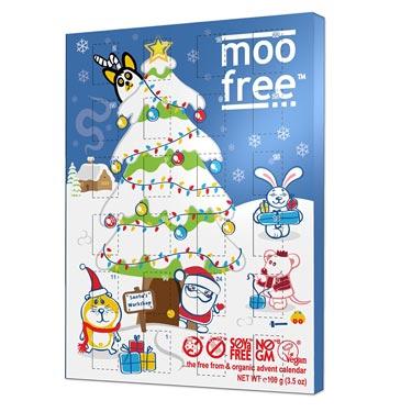 MooFree Adventskalender Vegan Bio