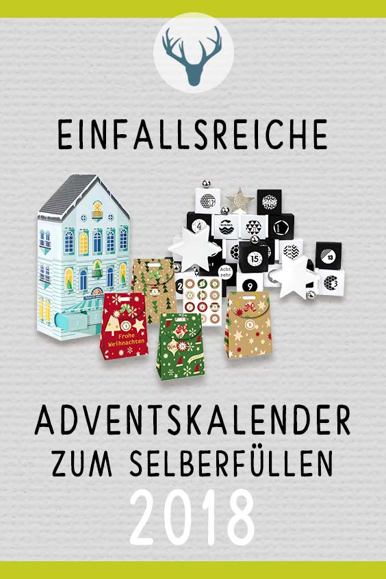 die sch nsten und kreativsten adventskalender zum bef llen. Black Bedroom Furniture Sets. Home Design Ideas