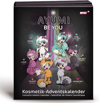 Nici Ayumi Kosmetik Adventskalender 2016