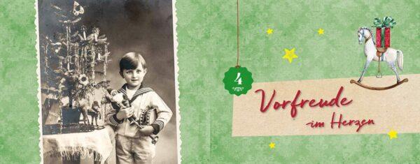 Nostalgischer Adventskalender - Bilder
