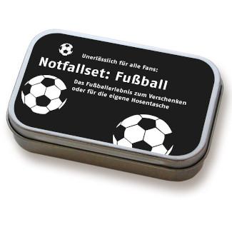 Notfallset Fußball Adventskalender Männer Füllidee